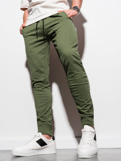 Laisvalaikio kelnės (chaki spalvos) Noren