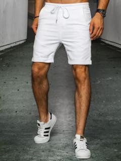 Vyriški džinsiniai šortai (balti) Kallo
